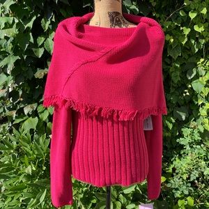 NWT LUCIA BURNS Pullover Sweater, L